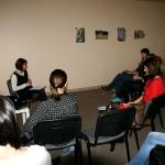 Pēc semināra mammas aktīvi diskutēja un sarunājās par dažādām tēmām!