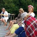 Dāmas iedvesmojas no Lauras Tidriķas interesantā un atraktīvā stāstījuma!