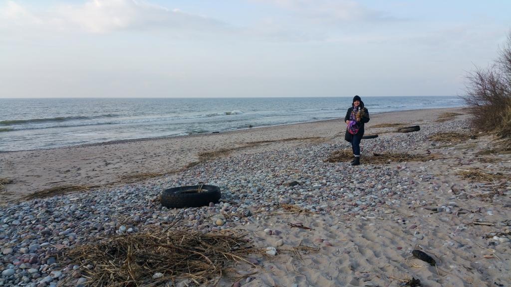 Jūra un akmeņi tās krastā