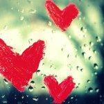 window-water-drop-rain-heart