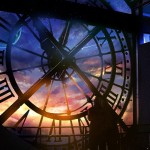 320217-time-clock_tower-planet-stars-people-sky