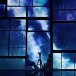 tamagosho-sky-stars-telescope-night-window