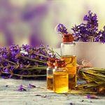 lavendar and essential oils