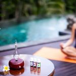 Magnificent-Nebulizing-Essential-Oil-Diffuser-for-Aromatherapy-by-Organic-Aromas-Dark-colored-Poolside-Yoga