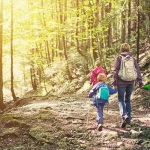 Family-walk-forest-mum-kids